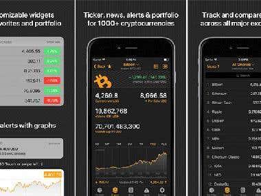 CoinMarketApp - Crypto, Portfolio, ICO Tracker