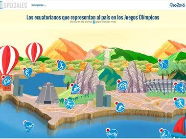 Web Site Rio Olympics 2016