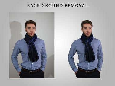 Back ground removal