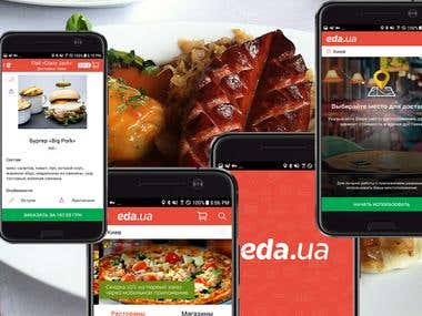 Food Ordering - Eda.ua - Доставка еды