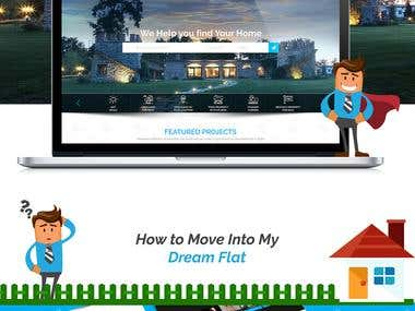 Real Estate Creative Template Design