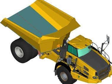 Truck Cover Illustration