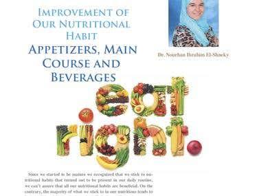 Improvement of Our Nutritional Habit Appetizers, Main Course