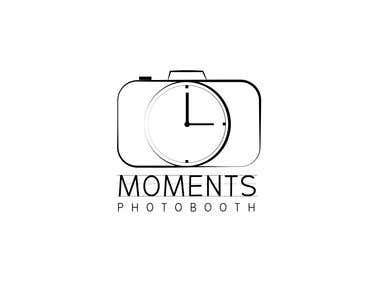 Moments Photobooth logo