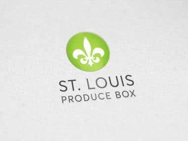 St. Louis Produce Box logo Design