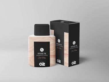 Simple Perfume Packaging Design