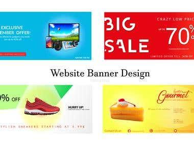 Website Banner/Header Image Design