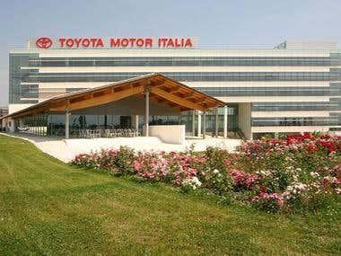 Traduzione per Toyota Motor Italia