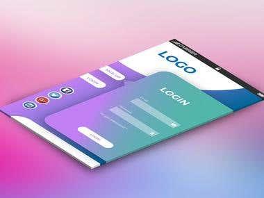 app-login-design