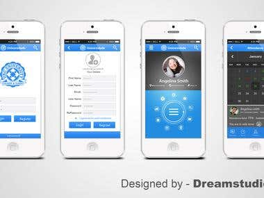 IPhone App UI Design