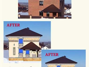 Remodeling. Reconstruction. New Concept Idea.