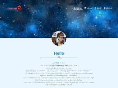 My Profile Website