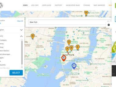 WordPress and Google Map Api