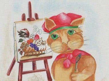Nursery Rhyme Illustration
