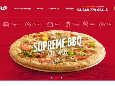 Pizzaro Website