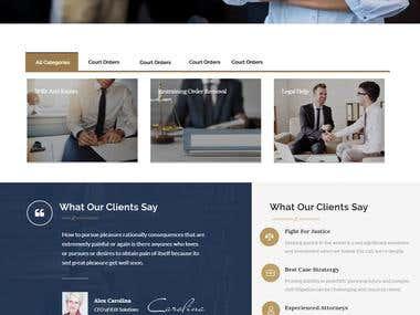 Debt Collection Website