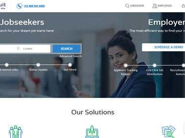 I develop this website for Employers and job seeker
