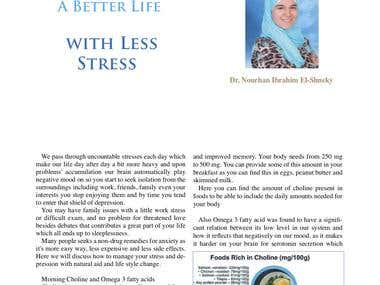 A Better Life with Less Stress