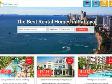 Thaihome - Vacation Rental System