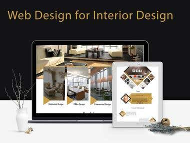 Photoshop Design of Interior Design