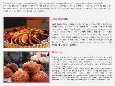 foodmarket web site