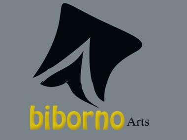 Logo design for Biborno Arts