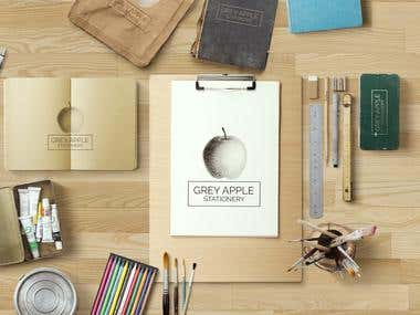 Art Stationary Design Set