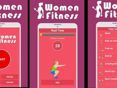 Women Fitness App