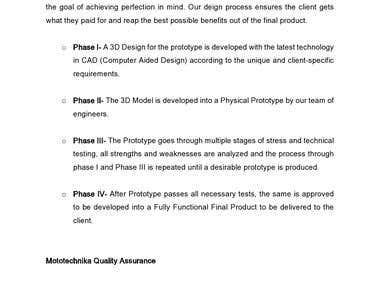 Mototechnika Company Profile