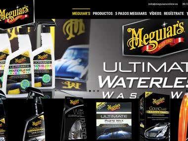 E-commerce Meguiar's