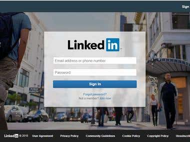 LinkedIn Add Connections Automation
