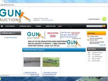 Intro & 4 Video Tutorials for GunAuctions.com.au