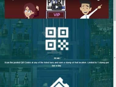 Newportbar Rewards Web app