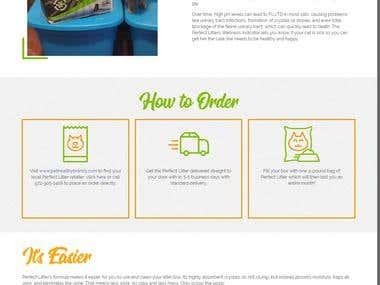 DESIGN AND DEVELOPMENT OF PERFECT LITTER WEBSITE