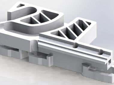 Hatch mechanism part (3D-print)