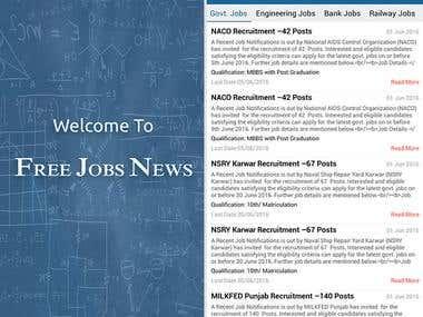 Free Jobs News