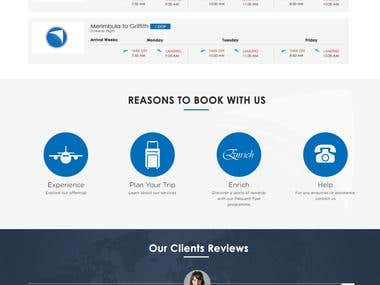 Online Chartered plane booking