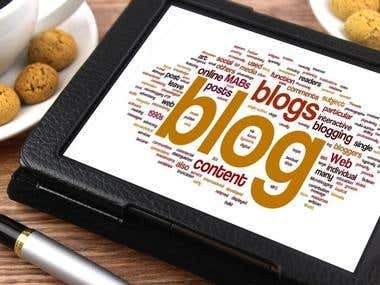 Web content and Blog