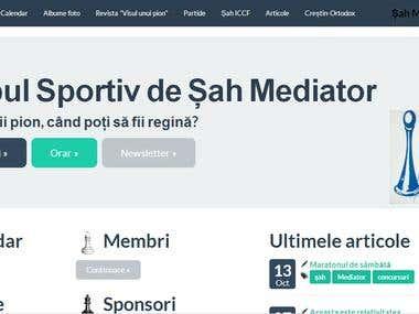 Sahmediator: SilverStripe is a web page