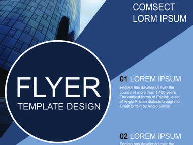 flyer design...