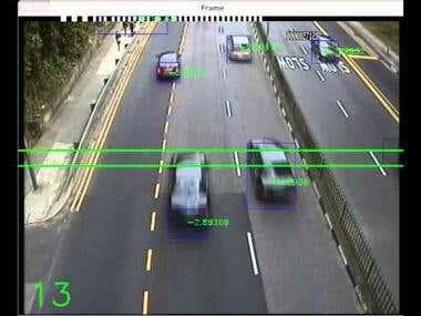 Vehicle Tracking(Image Processing)