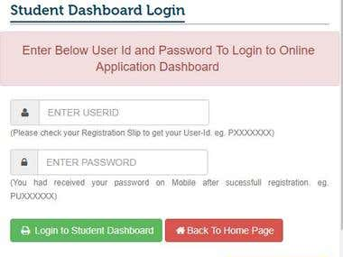 Complete Online Admissions System