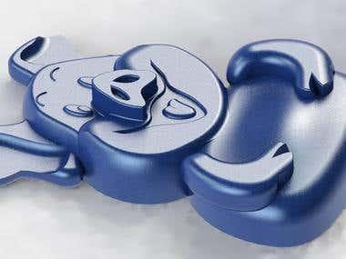 Chocolate molding (form)2.