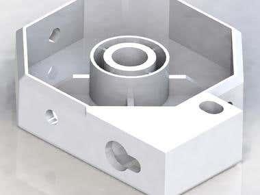 Fastening part (3D-print)