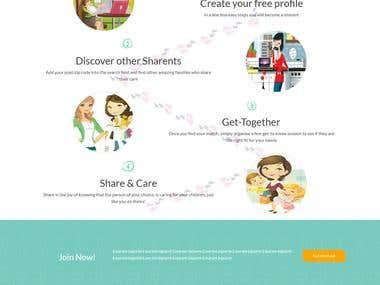 Sharent (Babysitting) platform