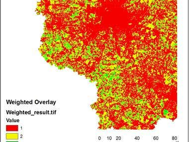 GIS Best Locations for new WindMills