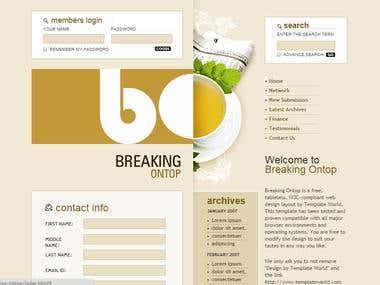 Blogging System