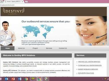 Website Development Project.