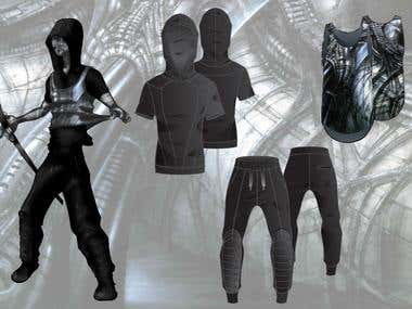 FASHION SPORTSWEAR - M&W (GIGER)