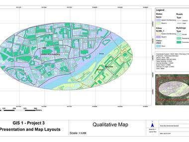 Quantitative and Qualitative Maps